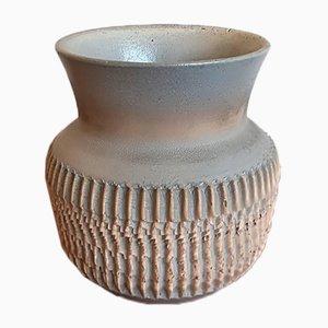 Vaso Art Déco in ceramica di Jean Besnard, anni '30