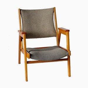 NG-11 Armlehnstuhl von Be Niegeman-Brand für Goed Wonen, 1950