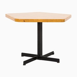 Table Pentagonale Les Arcs par Charlotte Perriand, 1960s