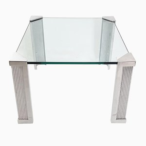 T14 Square Coffee Table by Peter Ghyczy, 1970s