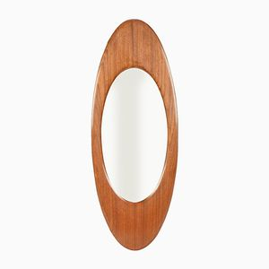 Italian Wall Mirror by Franco Campo & Carlo Graffi, 1950s