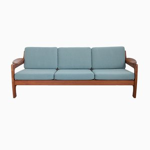 Teak 3-Seater Sofa from Dyrlund, 1960s