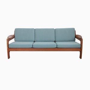 Teak 3-Sitzer Sofa von Dyrlund, 1960er