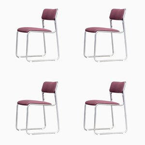 Modell SE09 Stühle von Walter Antonis für 't Spectrum, 1970er, 4er Set