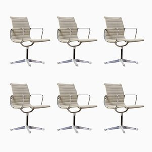 Model EA108 Armchairs by Ray & Charles Eames for Herman Miller, 1950s, Set of 6