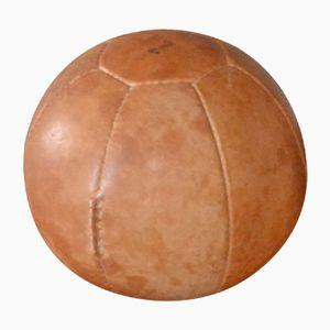 Vintage Leder Medizinball