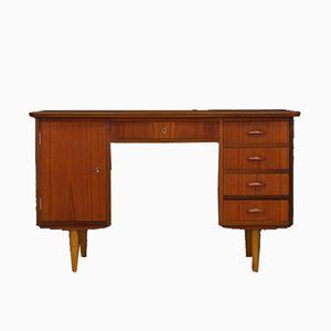 Mid-Century Danish Teak Veneer Desk