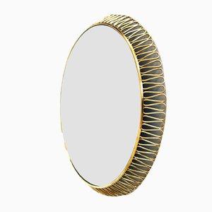 Vintage Backlit Wall Mirror by Josef Frank for Svensk Tenn
