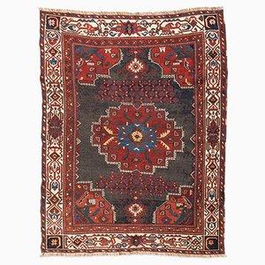 Antiker orientalischer Afshar Teppich in Rot & Blau