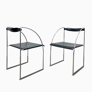 Patoz Chairs by Francesco Soro for ICF, 1980s, Set of 2