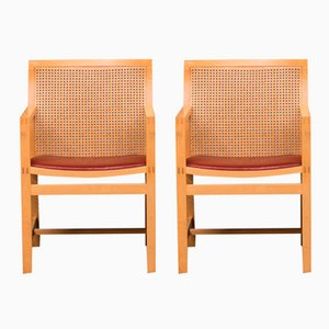 Royal Series Chairs by Rud Thygesen & Johnny Sørensen for Botium, 1985, Set of 2
