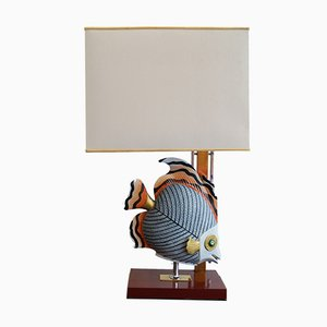Hollywood Regency Table Lamp, 1970s