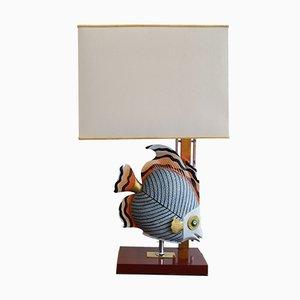 Lámpara de mesa Hollywood Regency, años 70