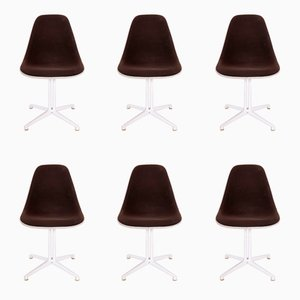 La Fonda Stühle von Charles & Ray Eames für Vitra, 1985, 6er Set
