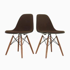 Vintage DSW Stühle von Charles und Ray Eames für Herman Miller, 2er Set