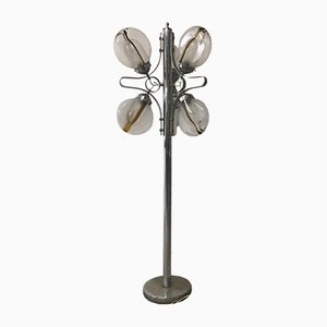 Vintage Italian Murano Glass Floor Lamp