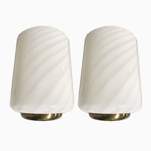 Vintage Murano Wall Lights, Set of 2