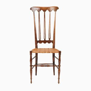 Walnut Chiavari Chair, 1950s