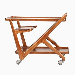 Serving Wagon by Cesare Lacca for Cassina, 1950s
