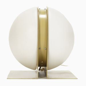 French Table Lamp by Ben Swildens for Verre Lumière, 1970s