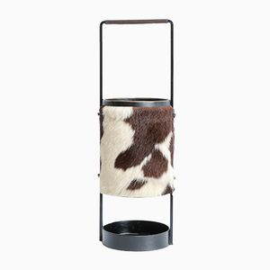 Cowhide Umbrella Stand, 1960s