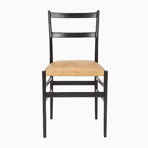 Vintage Leggera Stühle von Gio Ponti für Cassina, 12er Set