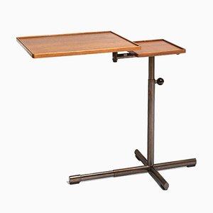 Tavolino Caruelle regolabile di Embru, anni '40