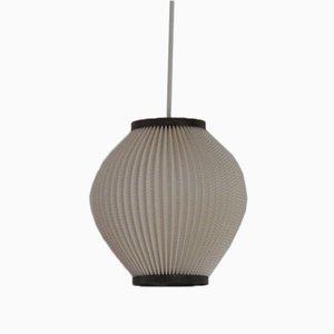 Lámpara colgante de acrílico plisado de Lars Ejler Schiøler para Hoyrup Light, años 60