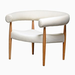 Mid-Century Model 114 Ring Armchair by Nanna Ditzel for Kolds Savværk