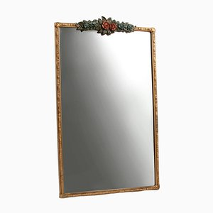 Vintage Large Rectangular Barbola Mirror