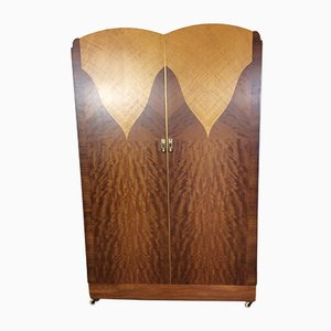 Art Deco Wardrobe from Maple & Co., 1930s