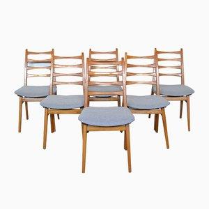 Esszimmerstühle von Kuhlmann & Lalk, 1960er, 6er Set