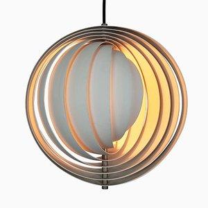 Lámpara Moon de Verner Panton para Louis Poulsen, años 60