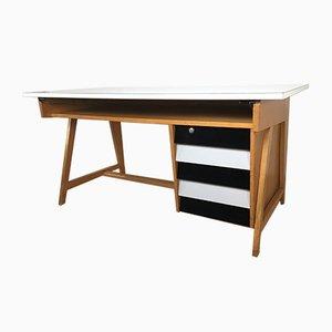 Deutscher Mid-Century Schreibtisch von Leuwico, 1960er