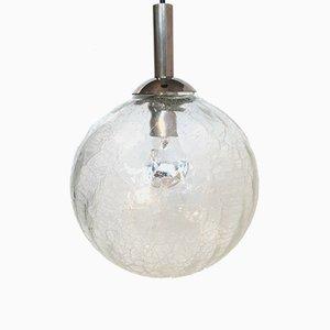 Mid-Century Craquelee Ceiling Lamp, 1960s