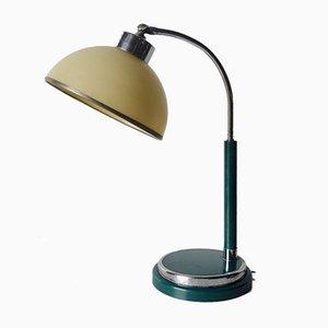 Lámpara de escritorio táctil de Marianne Brandt para Gotha Metal Fabric, años 30