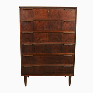 Rosewood Veneer Chest of Drawers from Trekanten, 1960s