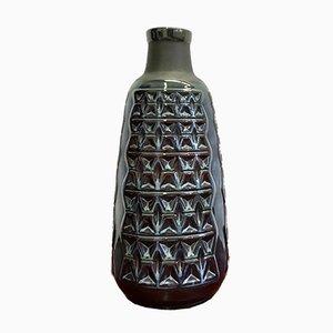 Dänische Mid-Century Vase aus Steingut von Einar Johansen für Søholm