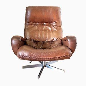 S231 Swivel Lounge Chair from de Sede, 1960s