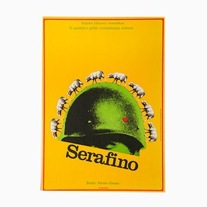 Serafino Movie Poster by Alexej Jaroš, 1972