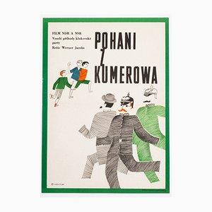 The Heathens of Kummerow Movie Poster by František Nový, 1968