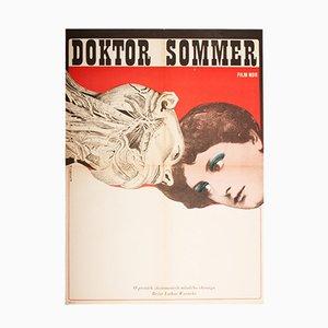 Doctor Sommer Movie Poster by František Zálešák, 1970