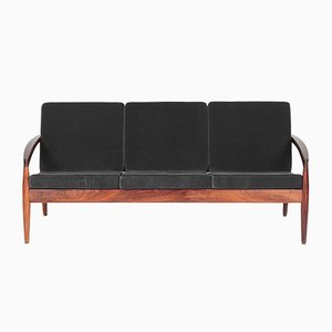 Danish Model 121 Paper Knife Sofa by Kai Kristiansen for Magnus Olesen, 1960s