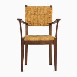 Französischer Armlehnstuhl von Audoux & Minnet für Vibo, 1950er