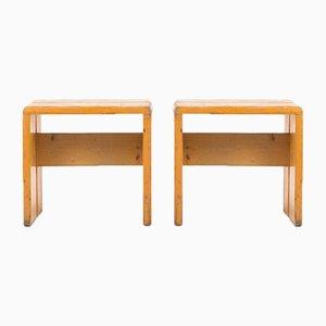 Stühle von Charlotte Perriand, 1960er, 2er Set