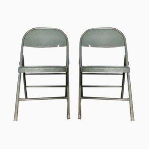 Industrielle Stühle von Krueger, 1974, 2er Set