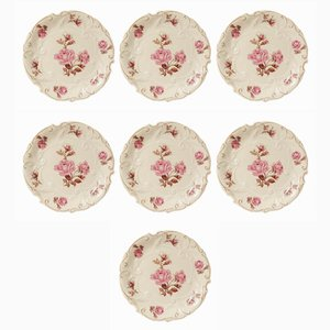 Porcelain Confectionery Plates from Unger & Schilde, Set of 7