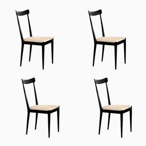 Esszimmerstühle von Ico Parisi für Fratelli Rizzi & Ariberto Colombo, 1950er, 4er Set