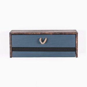 Hängender Holz Nachttisch von Rafael Fernández für OITENTA