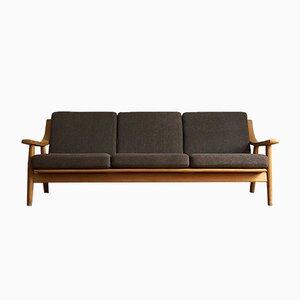Mid-Century Eichenholz 530 Sofa von Hans J. Wegner für Getama